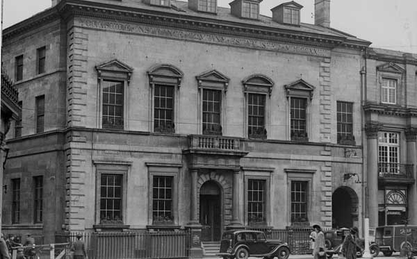 The Yorkshire Insurance Company in St Helen's Square in the 1940s. Photograph: York Libraries and Archives