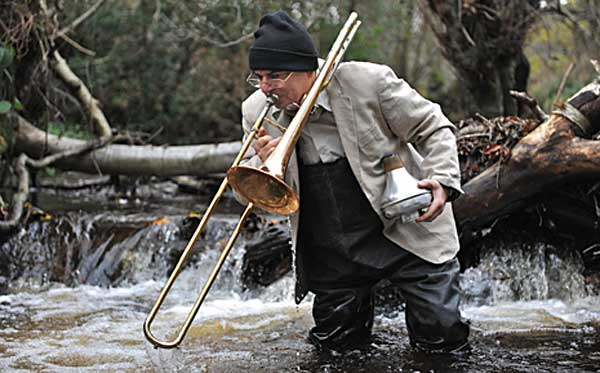 Alan Tomlinson has a trombone to pick with Yorkshire Water