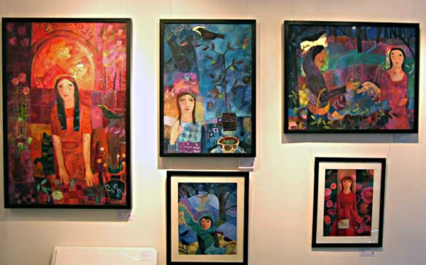 Some of Guiliana's work displayed at York Hospital