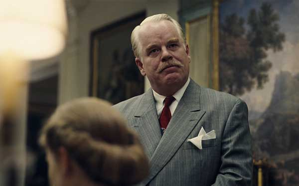 Mesmerising… Philip Seymour Hoffman in The Master