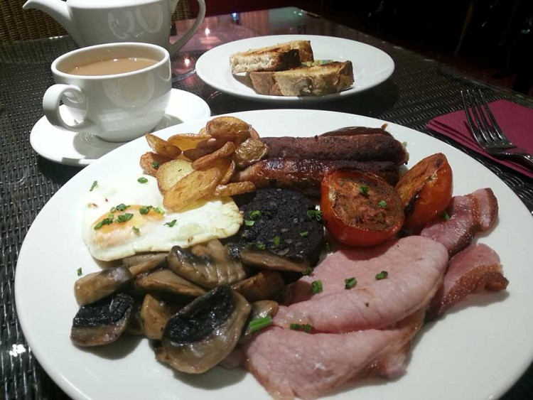 The Great British breakfast, a la Georgina's