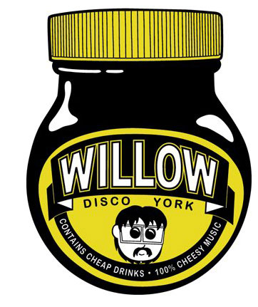 The Willow's Marmite branding