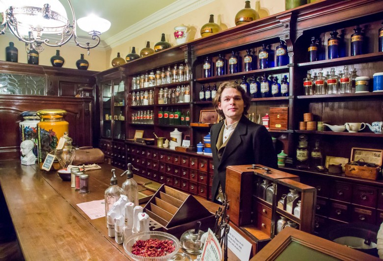 Meet the Victorian shopkeepers at the York Castle Museum. Photograph © Allan Harris on Flickr