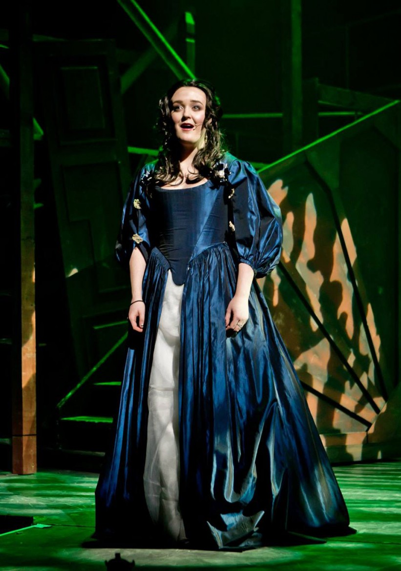 Holly Surtees-Smith as the older Cosette. Photograph: Matthew Kitchen Photography