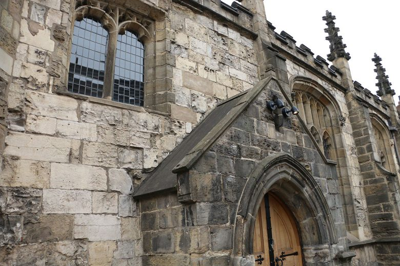 Once a church, now a bar: The Parish on the corner of North Street and Micklegate. Photograph: YorkMix