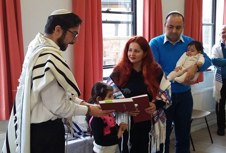 The family are being supported by the Jewish community in York