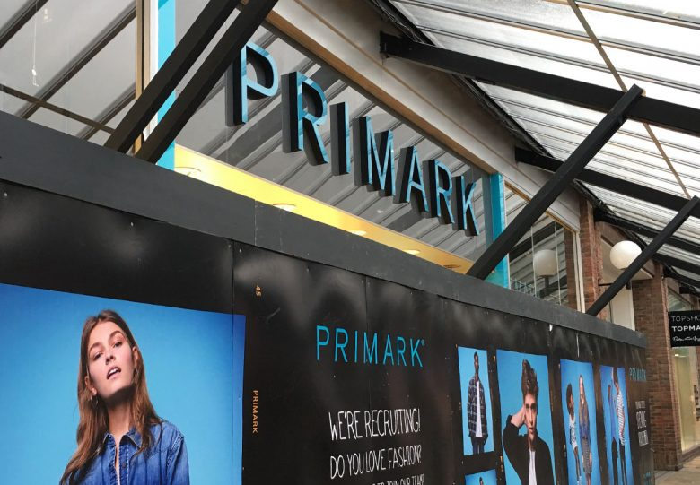 York Primark Coppergate entrance