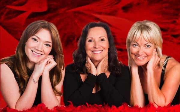 Hollie-Jay Bowes, Diane Keen and Terri Dwyer starred in the Vagina Monologues