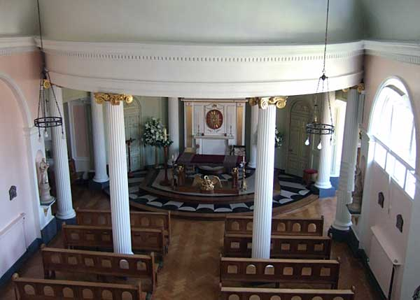 Inside the chapel of Bar Convent.  Photograph ©  David Smith on geograph.org.uk