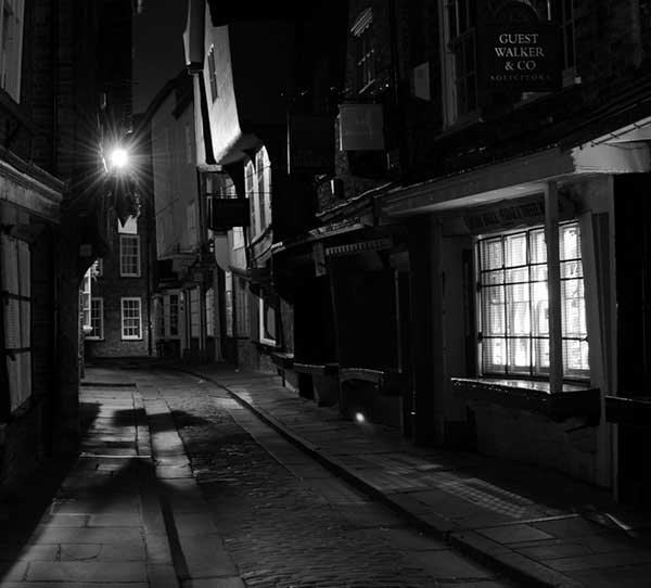 Commended: The Shambles At Night by Rachel Grey
