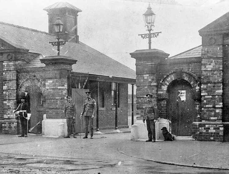 york-wwI-fulford-barracks