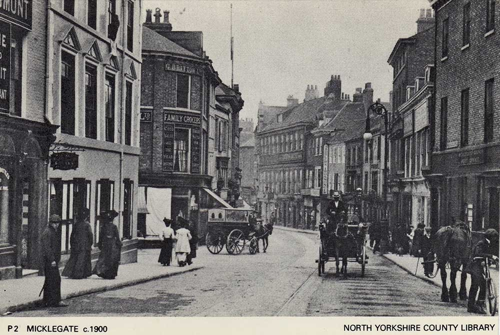 york-past-present-micklegate-1900