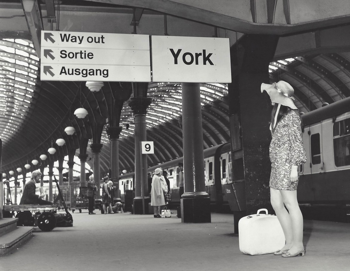 Way out, man: York station in 1969