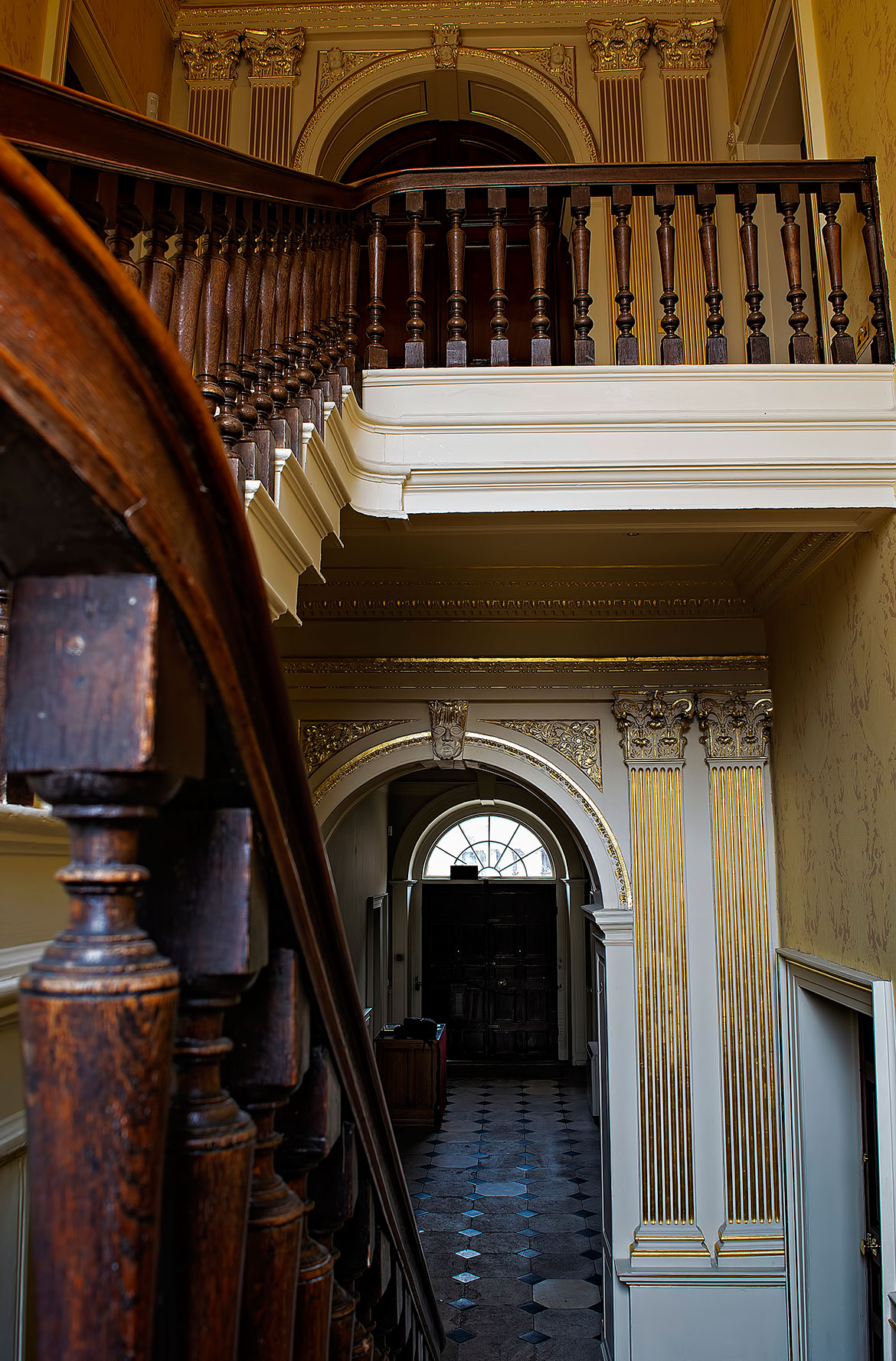 York Mansion House Empty First Floor Staircase Yorkmix