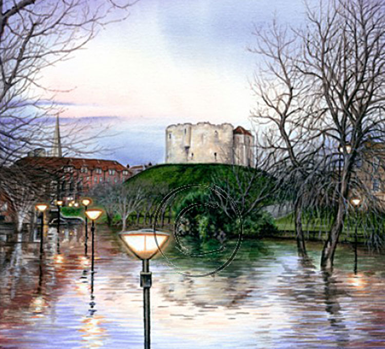 Mark painted this during the terrible floods
