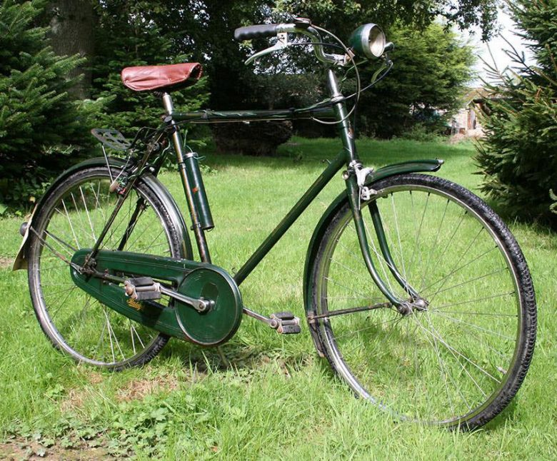 A Raleigh bike from the 1960s very similar to the one stolen