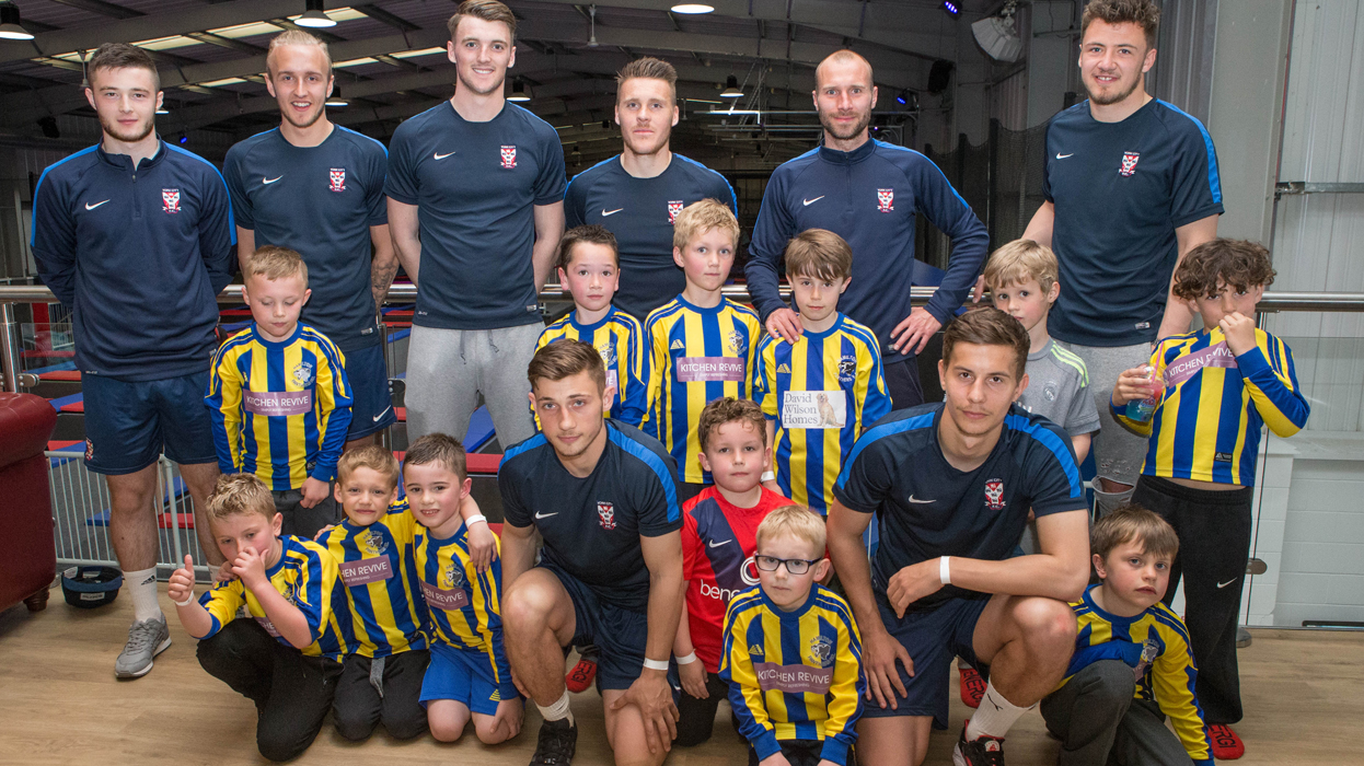 York City players bounce back after a poor season with Hamilton Panthers' under-7s