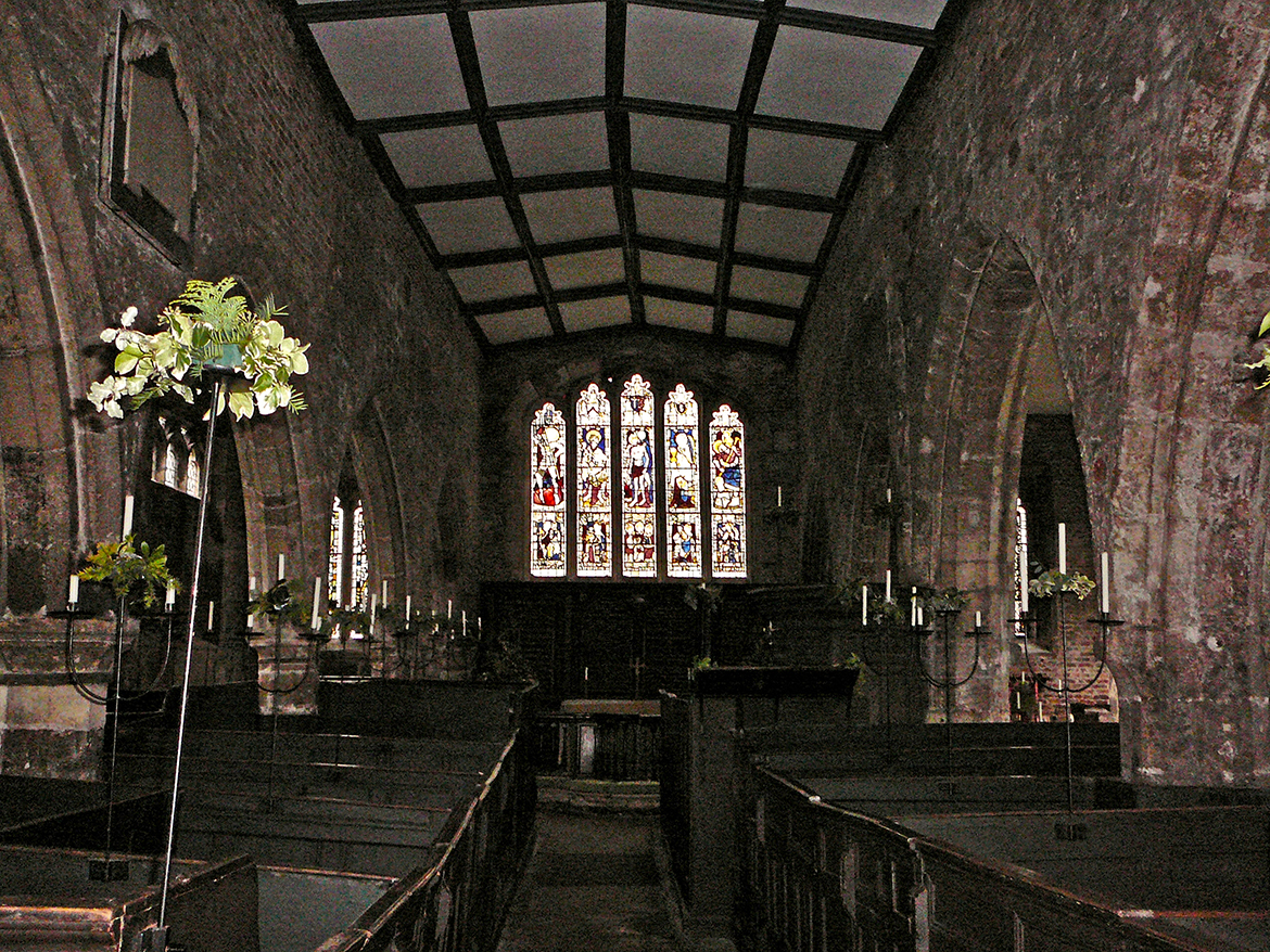 Inside Holy Trinity on Goodramgate. Photograph © Tim Green on Flickr