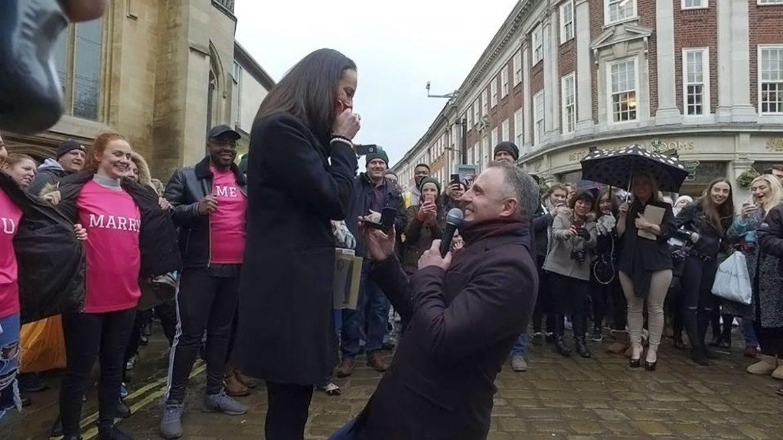 538b38248b1546 Tears of joy as Faye accepts Steve s proposal. Photographs  TopSecretAgent