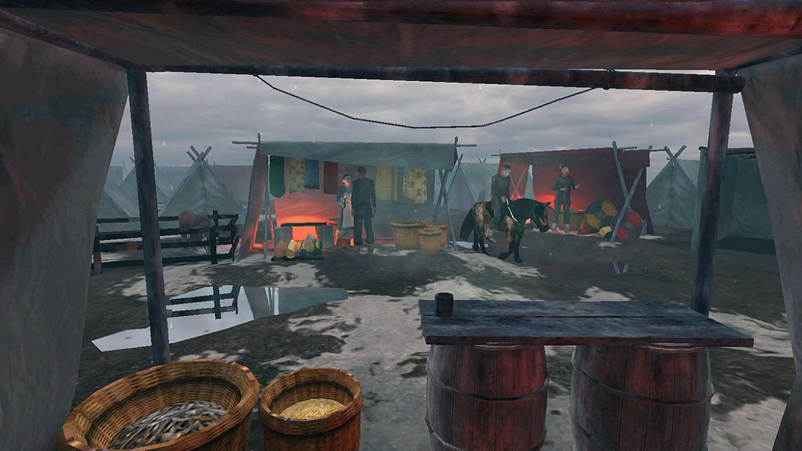 Video: Virtual reality transports you to Viking times in